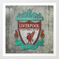 Liverpool FC Art Print