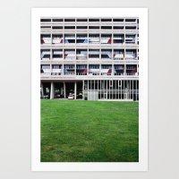 le corbusier Art Print