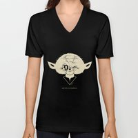 Starwars Yoda - May The Force Be With U Unisex V-Neck