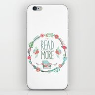 Read More Floral Wreath iPhone & iPod Skin