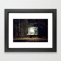 VwT2-n.9 Framed Art Print