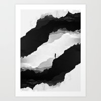 clouds Art Prints featuring White Isolation by Stoian Hitrov - Sto