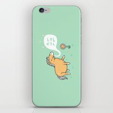 My poo will help you grow! iPhone & iPod Skin