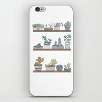 Quirky Succulents iPhone & iPod Skin