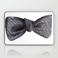Striped Bow Laptop & iPad Skin