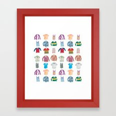 Shirts Framed Art Print