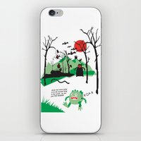 Arnie was just too round... iPhone & iPod Skin
