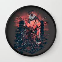 The Showdown Wall Clock