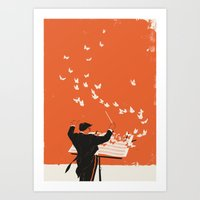 Managing Change Art Print