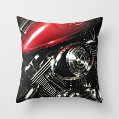 Harley Art Throw Pillow