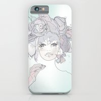 Flower Hair iPhone 6 Slim Case