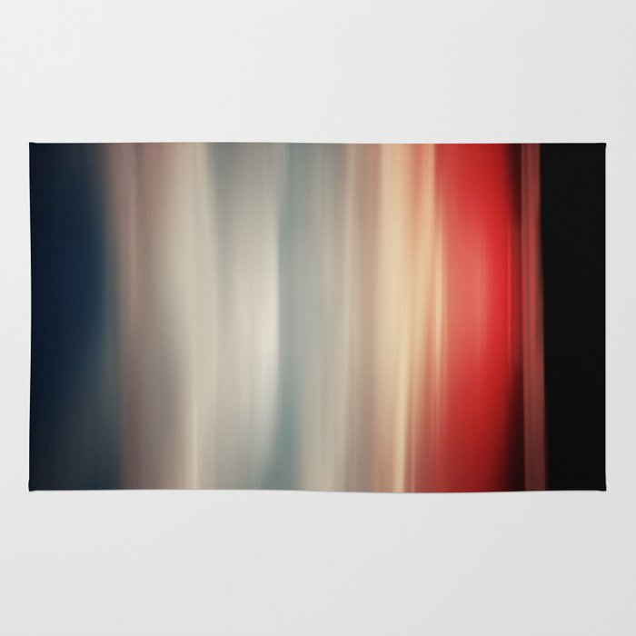 Red white and blue rug by farsidian society6 for Red and blue area rug