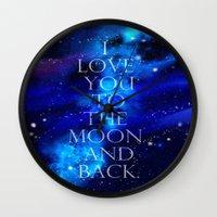 I Love You.. Wall Clock