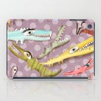 Crocodile Love iPad Case