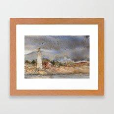 Menagerie Island Lighthouse Framed Art Print