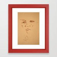 O.l Framed Art Print