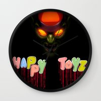 Happy Toyz Wall Clock