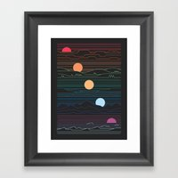 Many Lands Under One Sun Framed Art Print