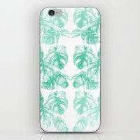 Monstera Tropical Jungle  iPhone & iPod Skin