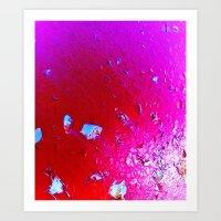 LavaLampesque Art Print