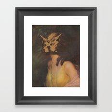 The Foxface Framed Art Print