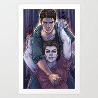 Possessed And Possession Art Print