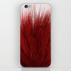 Red Fuzz iPhone & iPod Skin