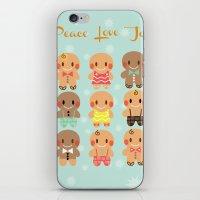 Gingerbread Love iPhone & iPod Skin