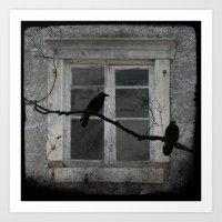 The Window Dressing Art Print