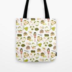Dim sum pattern Tote Bag
