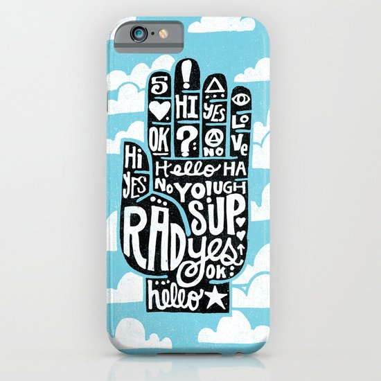HIGH FIVE ALIVE iPhone & iPod Case