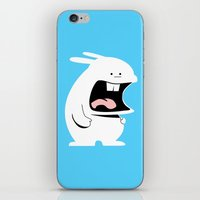Screaming Rabbit iPhone & iPod Skin