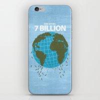 Now Serving 7 Billion iPhone & iPod Skin