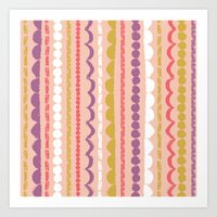 Butterfly Garden - Streamers Art Print