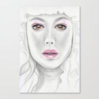 Porcelain Beauty Canvas Print