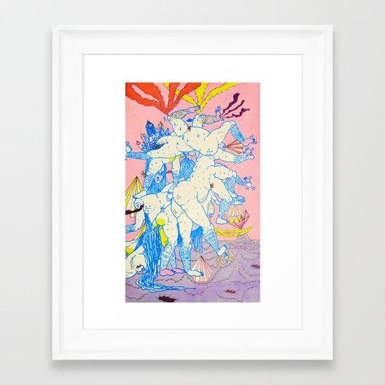 expel Framed Art Print