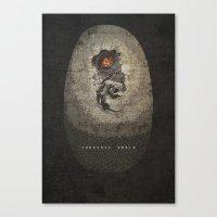 Jurassic Alternate Canvas Print
