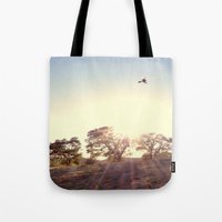 A Hawks View Tote Bag