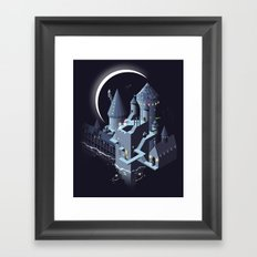 Monumental Harry Framed Art Print