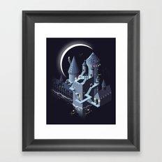 Monumental Harry Framed Art Print