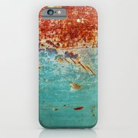 iPhone & iPod Case featuring Teal Rust by RichCaspian
