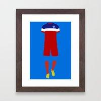 World Cup Framed Art Print