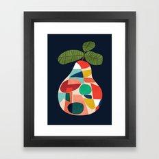 Fresh Pear Framed Art Print