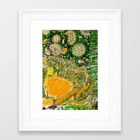 Jardin 2 Framed Art Print