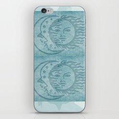 Sun Moon And Stars Batik iPhone & iPod Skin