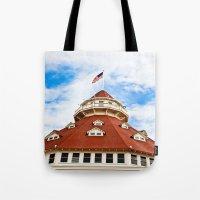 Haunted Coronado Tower Tote Bag