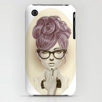 iPhone 3Gs & iPhone 3G Cases featuring Fu*k U by Giulio Rossi