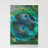 The Peacock Dream Stationery Cards