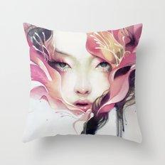 Bauhinia Throw Pillow