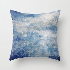 Rainy Skies Throw Pillow